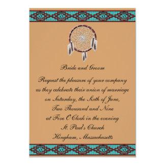 Invitación del boda de Dreamcatcher de la frontera