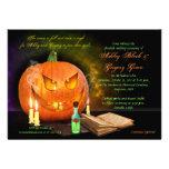 Invitación del boda de Jack O'Lantern Halloween