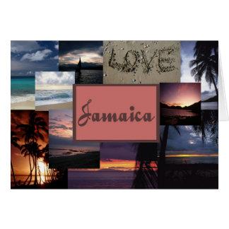 Invitación del boda de Jamaica Tarjetas