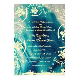 Invitación del boda de la agua corriente