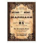 Invitación del boda de la apariencia vintage de St
