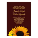 Invitación del boda de la caída invitación 12,7 x 17,8 cm
