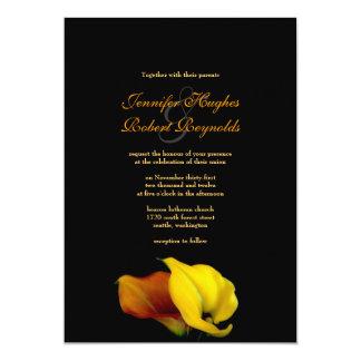 Invitación del boda de la cala