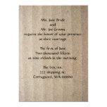 Invitación del boda de la cartulina invitación 12,7 x 17,8 cm