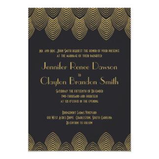 Invitación del boda de la concha de peregrino del