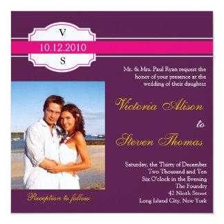 Invitación del boda de la etiqueta del vino