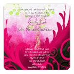 Invitación del boda de la flor del lirio de Cala
