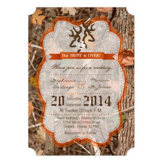 invitación del boda de la gama de los ciervos de