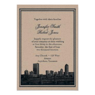 Invitación del boda de la marina de guerra del