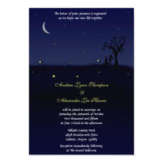 Invitación del boda de la oferta de la luciérnaga