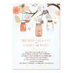 Invitación del boda de la primavera de los tarros