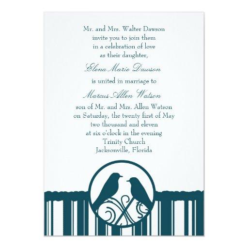 Invitación del boda de la raya del trullo