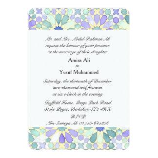 """Invitación del boda de la """"tranquilidad dulce"""" invitación 12,7 x 17,8 cm"""