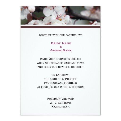 invitación del boda de los pares