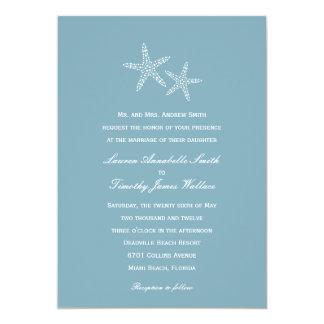 Invitación del boda de los pares de las estrellas