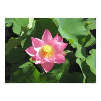 Invitación del boda de Lotus Waterlily