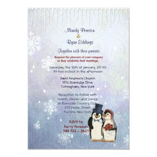 Invitación del boda de novia y del novio del invitación 12,7 x 17,8 cm