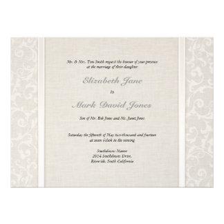 Invitación del boda de SmartElegance los padres i