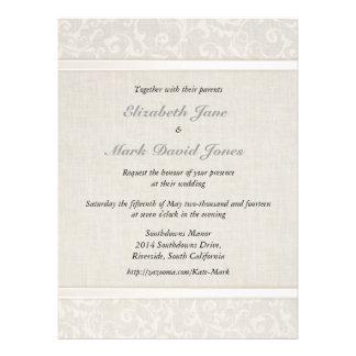 Invitación del boda de SmartElegance los pares in