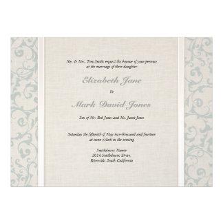 Invitación del boda de SmartElegance SeaSpray