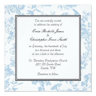 Invitación del boda de Toile del trullo