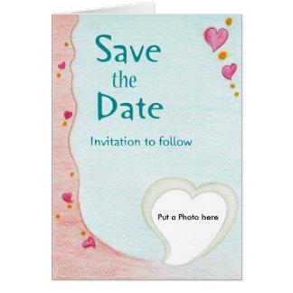 Invitación del boda del amor tarjetas