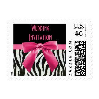 Invitación del boda del arco de las rayas y de las
