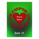 Invitación del boda del Cupid