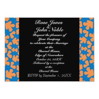 Invitación del boda del ébano de las Novas