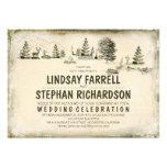 Invitación del boda del ejemplo del camping que ac