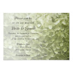 Invitación del boda del Hydrangea de Annabelle