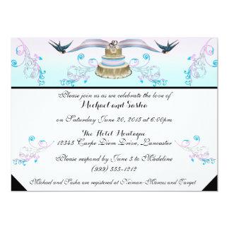 Invitación del boda del orgullo del transexual