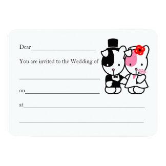 Invitación del boda del remiendo y de la amapola