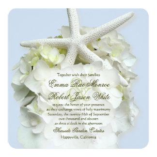 Invitación del boda del verano del cuadrado del invitación 13,3 cm x 13,3cm