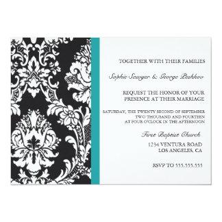 Invitación del boda del vintage del trullo