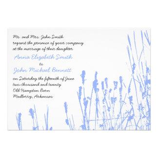 Invitación del boda del Wildflower - bígaro