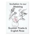 invitación del boda invitación 12,7 x 17,8 cm