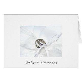 Invitación del boda tarjetas