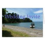Invitación del boda tarjeta de felicitación