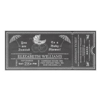 Invitación del boleto de la fiesta de bienvenida