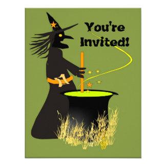 Invitación del Brew de las brujas
