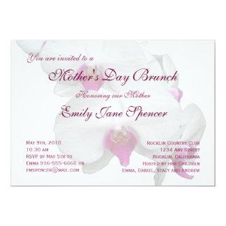 Invitación del brunch del día de madre