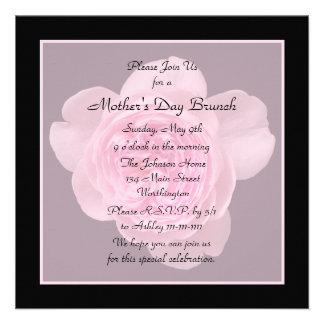 Invitación del brunch del día de madre -- Color de