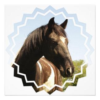 Invitación del caballo de proyecto del condado