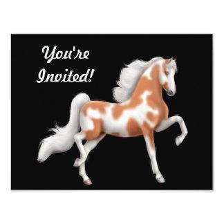 Invitación del caballo de Saddlebred del americano