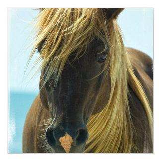 Invitación del caballo del mustango