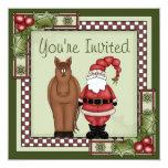 Invitación del caballo y de la celebración de días