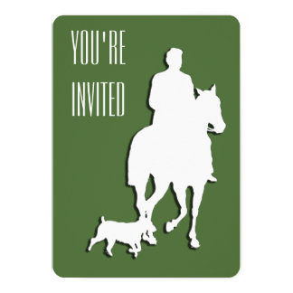Invitación del caballo y de la fiesta de
