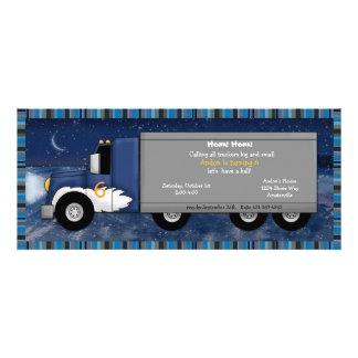 Invitación del camionero del hielo