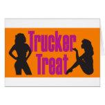 Invitación del camionero tarjetas